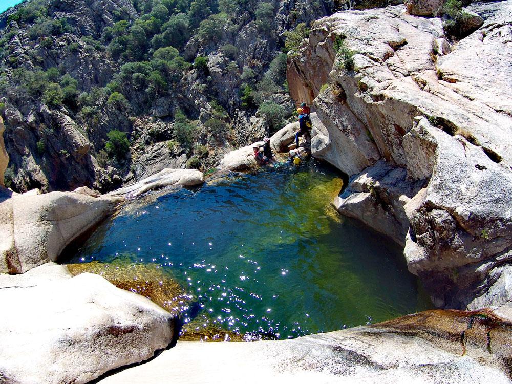 Canyoning Rio Pitrisconi Piscine e Cascate Dive